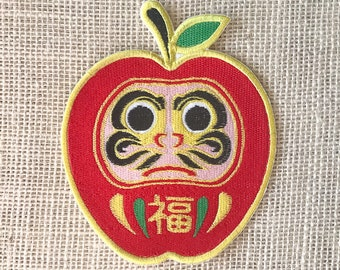 Fruits Daruma Patch - Daringo - Large