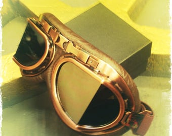 Special aviator Goggles - Steampunk Goggles - Steampunk Glasses - Road Warrior - Steampunk - Goggles - Glasses