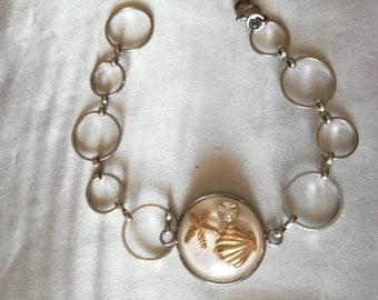 Bracelet Shells Cabochon Sea