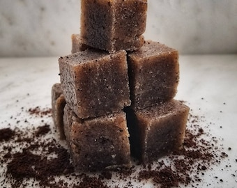 Sugar Scrub Cubes | HAZELNUT COFFEE |