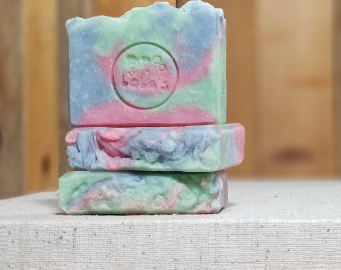 """China Rain Scented """"Ophelia"""" Soap Goddess Loves Shakespeare Soap, vegetarian, lightly scented, yogurt soap, free shipping"""