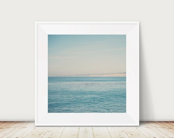 SALE san diego photograph pacific ocean photograph la jolla photograph california photograph blue wall art seascape coastal wall art