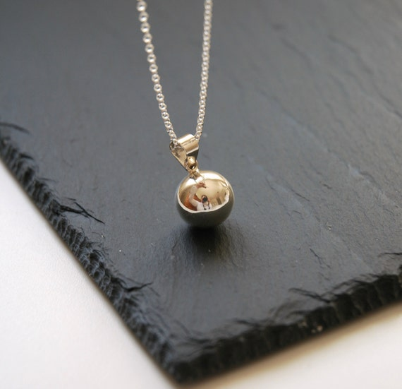 Harmony ball necklace sterling silver harmony ball pendant aloadofball Gallery