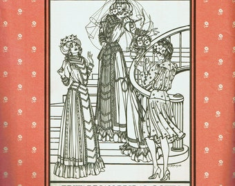 Folkwear Edwardian Bridal Dress 227