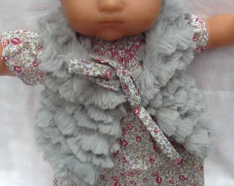 Doll clothe fur vest Liberty for 30 to 36 cm doll