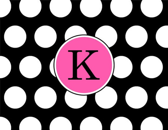 Item #45004 Classic Dot, black and white never goes out of style, pick an accent color to add a little pop.