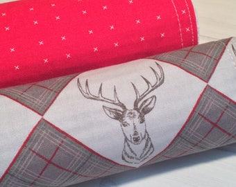 Burp Cloth ~ Geometric//Nature//Tribal//Native//Woodland//Stag//Buck//Deer