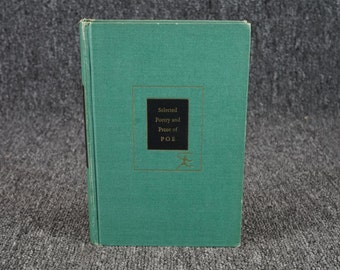 Selected Prose And Poetry Of Poe C. 1951