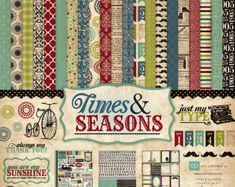 Echo Park Times & Seasons Collection Kit