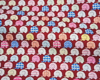 Tiny Elephant Print Japanese  fat quarter 19.6 by 21 inches nc35