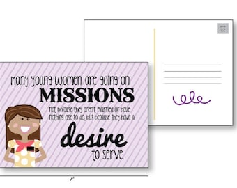 Sister Missionary Postcards