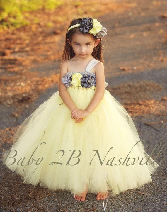 Yellow flower girl dress babyflower girl dressesdressesss yellow flower girl dress baby mightylinksfo
