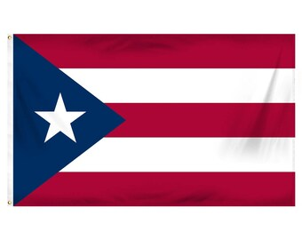 Puerto Rico flag - 3 x 5 ft - Polyester