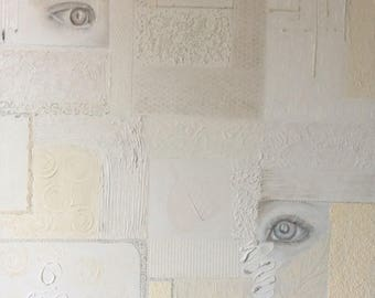 Winter - original acrylic eyes
