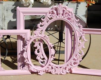Rustic Picture Frames Shabby Chic Nursery Gallery Frame Collage