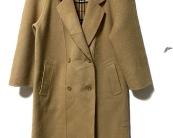 Berberry Outwear wool coat double breasted