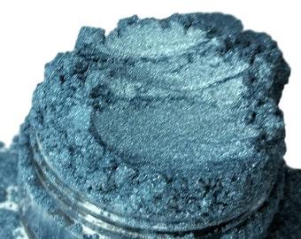 TORRID Blue Eye Shadow Sky Pale Smokey Eyes Glitter Mineral Eyeliner 5g Sifter Jar Cosmetics eyeshadow Vegan Natural mineral  Makeup TORRID