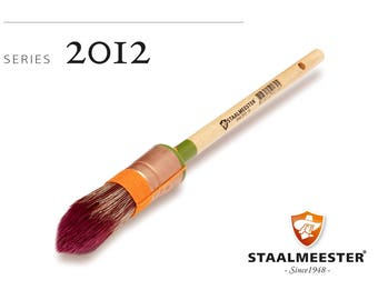 Staalmeester Pointed Sash Paint Brushes - Series 2012 - 2 sizes