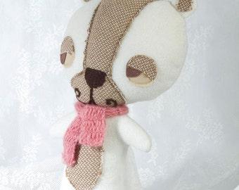 White Stuffed Bear, White Bear Plush, White Bear Soft Toy, White Bear Toy, kids Plush, White Teddy Bear Toy, Stuffed Animal, Stuffed Bear