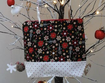 Candy Cane craft bag