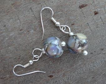 Amazing eyes - Lampwork Glass Earrings