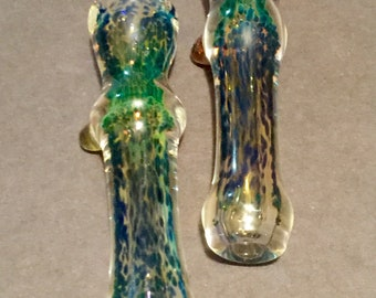 Pair of glass chillums 2 for 16