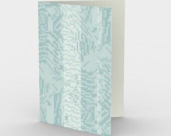 Bitweave Light Blue Card
