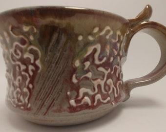 Fuchsia Filigree Mug