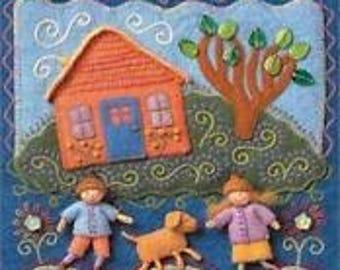 Felt Wee Folk Enchanting Projects Book By Salley Mavor