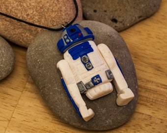 Star Wars R2D2 inspired Pendant