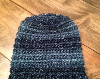 Denim Slouch Hat