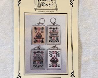 Milady's Needle Sampler Keychains Cross Stitch Pattern