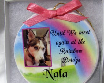 Pet Memorial Pet Ornament Pet Ornament Christmas Ornament Personalized Memorial Forever In Our Heart