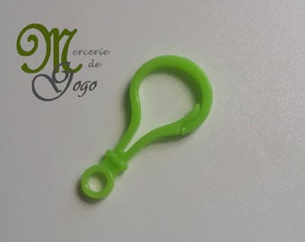 Hook or hook for Green Apple baby toy.