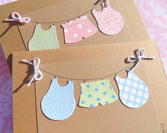 Welcome Baby Cards - Baby Shower Thank You Cards - Baby Shower Card - New Baby Cards - KBCC