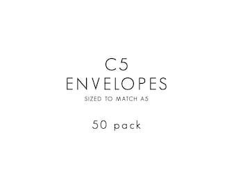 Envelopes / C5 / 50 PACK
