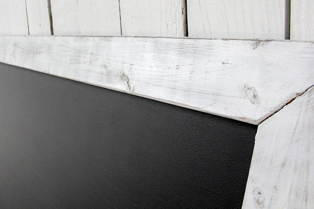 Large Rustic Farmhouse Magnetic Chalkboard | Distressed | Vintage ...