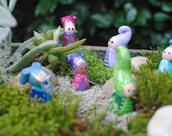 Made to Order Fairy Figurine, Dwarf Figurine, Gnome Figurine, Fairy Garden, Mini Fairy, Fairy Doll, Sculpted Doll, Garden Fairy, Whimsical