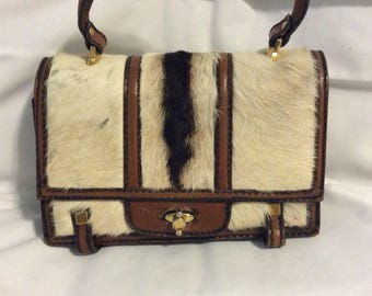 Vintage Tano top handle clutch