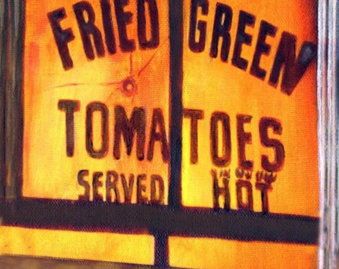 Outside In, Giclee Print on Fine Art Paper or Canvas, Fried Green Tomato's Serties