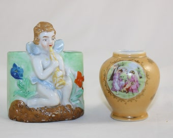 Vintage Made in Japan Miniature Porcelain Vases