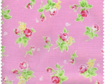 Flower Sugar 2013 by Lecien  Roses on Pink 30749-20 Cotton   OOP