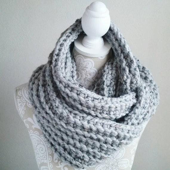 Crochet Infinity Scarf Pattern Crochet Pattern Diy Crochet