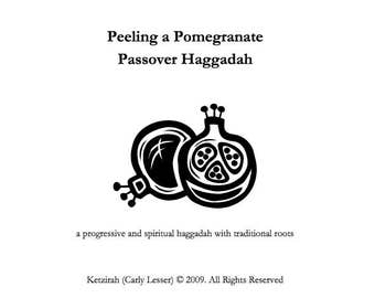 Passover Seder Haggadah Bundle:  (PDFs) Passover and Chanukah - Digital Download - Chanukah Seder Celebration