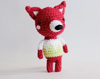 Little Fox amigurumi