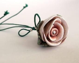Portachiavi Romantico Rosa idea regalo