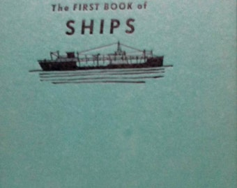 Sale-1959 The First Book Of Ships