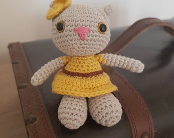 Amigurumi little cat