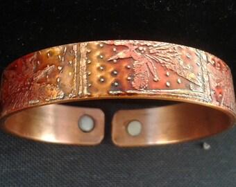 Copper Magnetic Health Band Bracelet  'Lily'