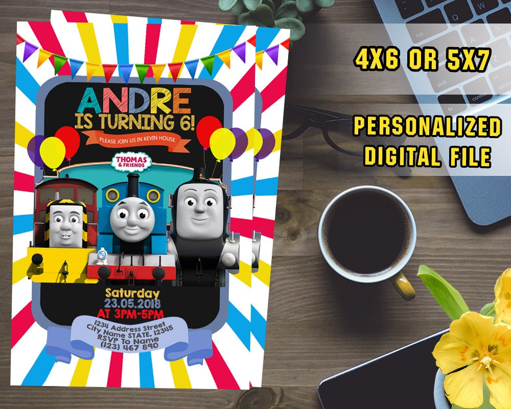 Thomas And Friends InvitationThomas And Friends
